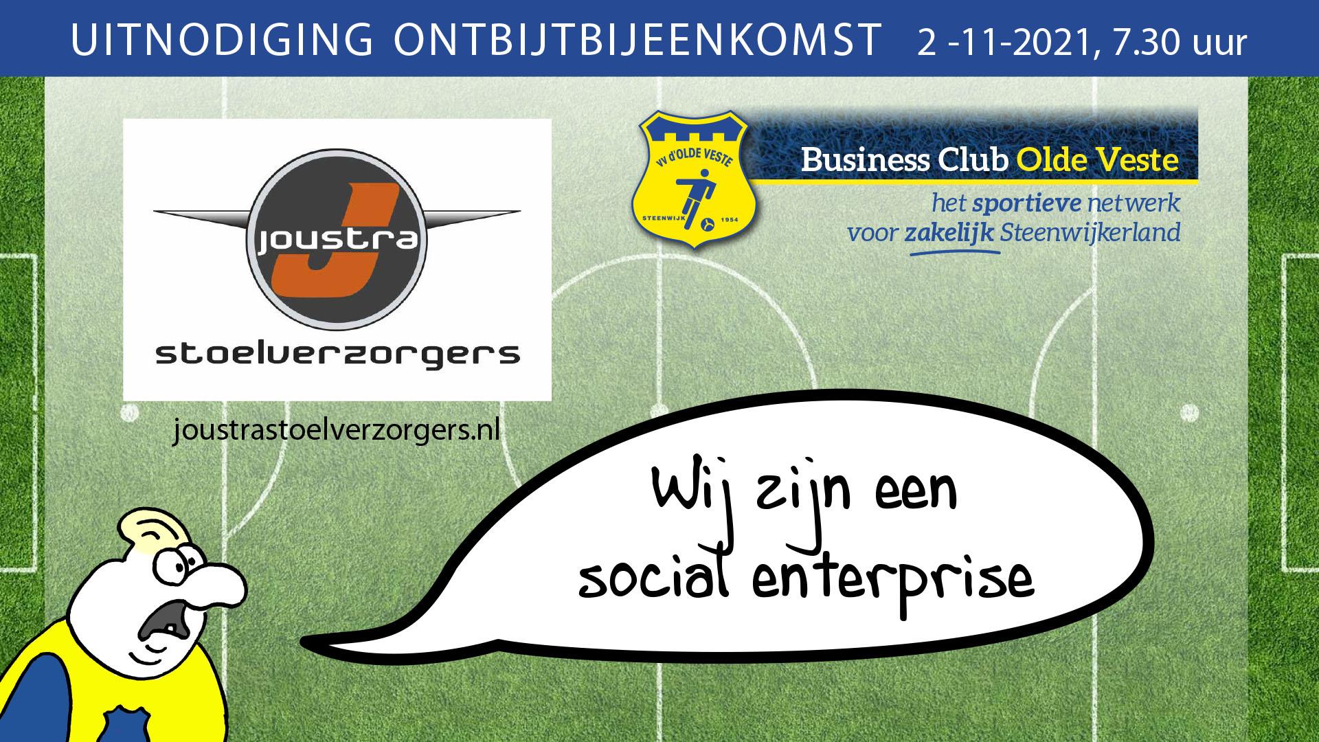 Ontbijtbijeenkomst Business Club Olde Veste