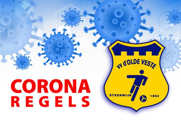 Corona trainingsschema , periode 25 januari tot en met 5 februari 2021.