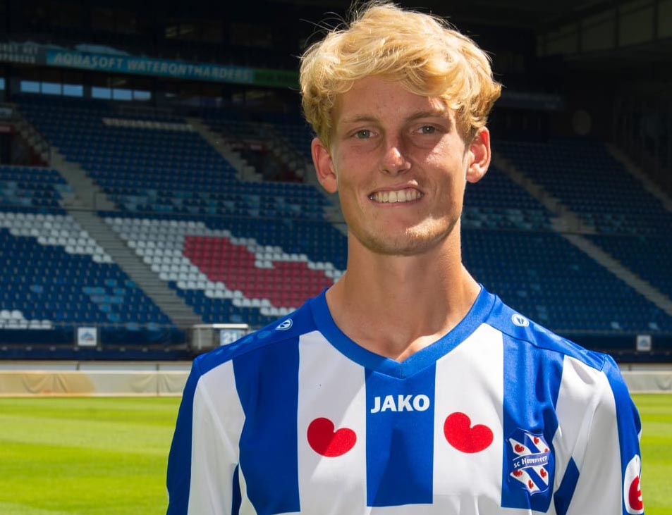 Jaap van Dijken tekende na12 jaar OV zijn contract bij SC Heerenveen