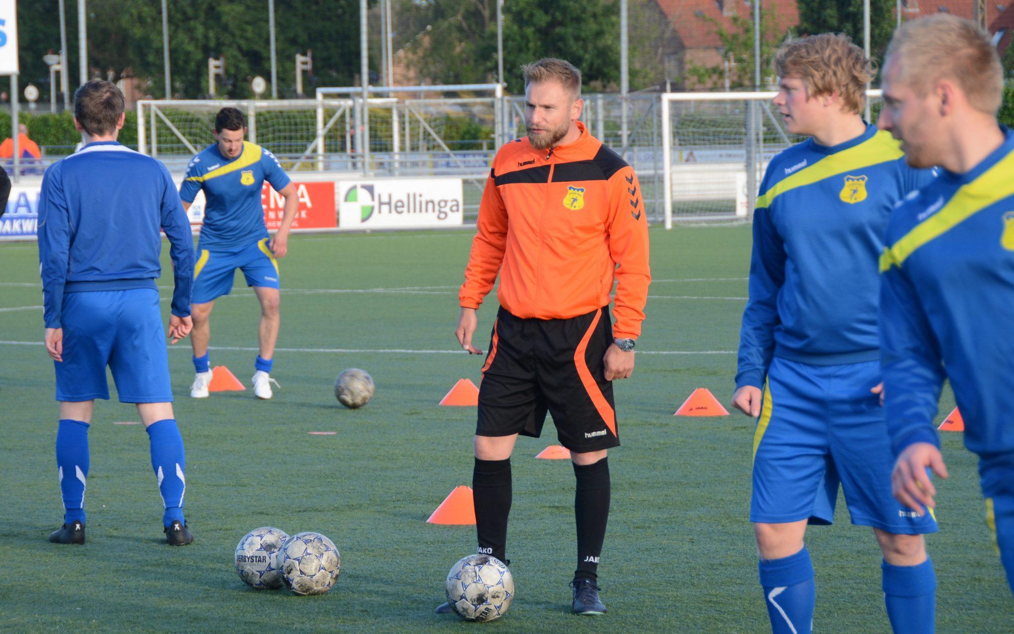 Willem Jan Talsma ook volgend seizoen trainer Olde Veste 2