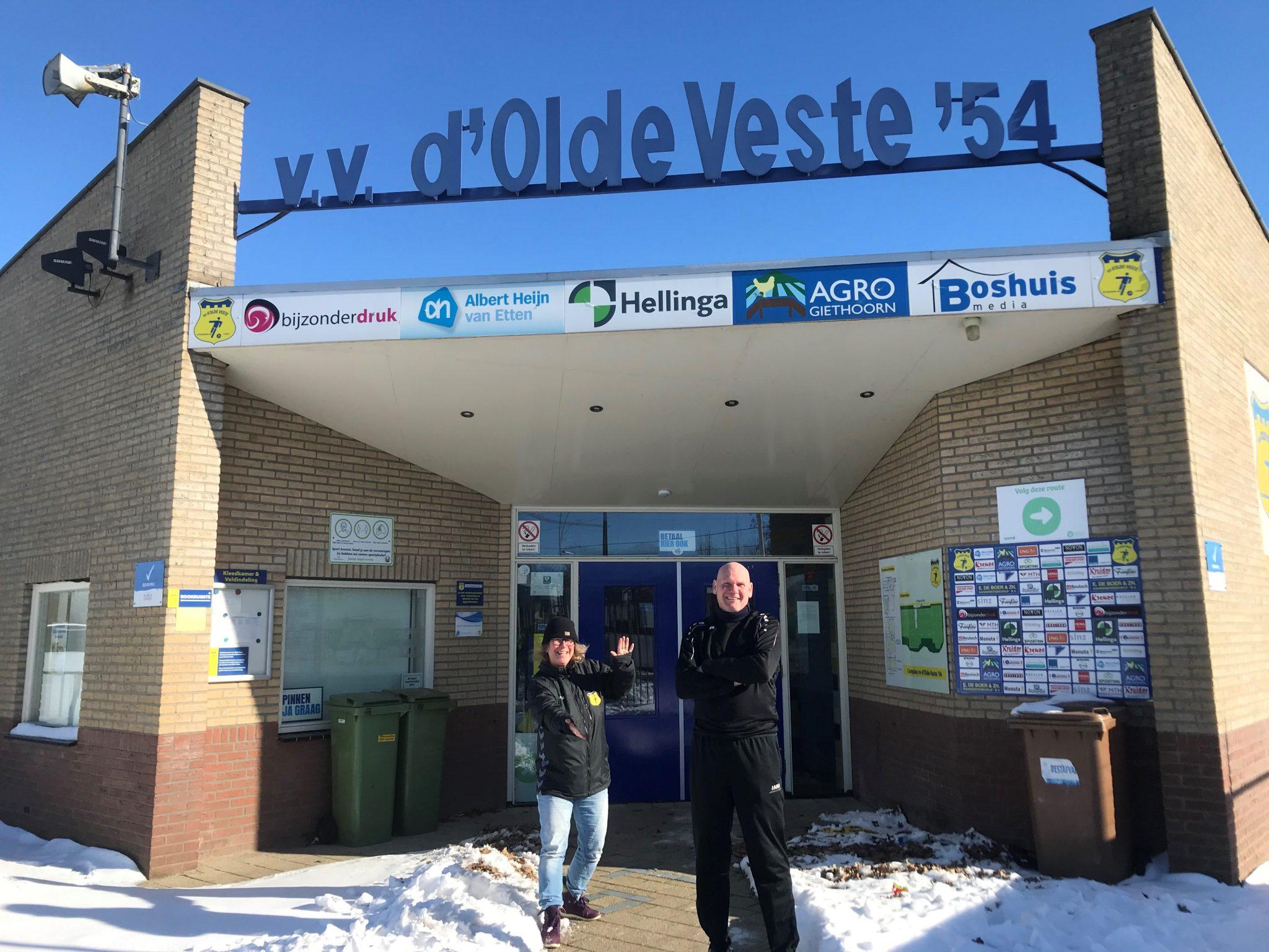 Bert de Ruiter nieuwe trainer vrouwen Olde Veste