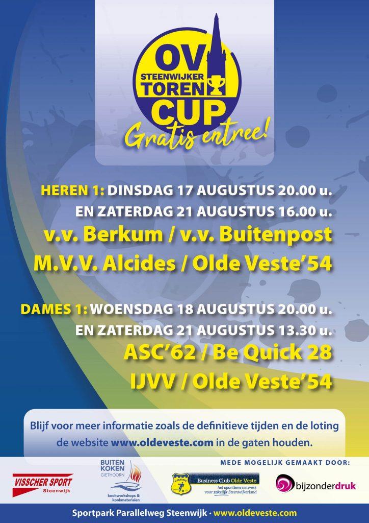 OV Steenwijkertoren cup agenda